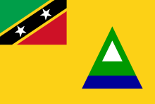 220px-Flag of Nevis.svg