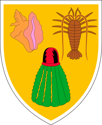Coat of arms of the Turks and Caicos Islands.svg